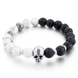 Pulsera De Calaveras Simple
