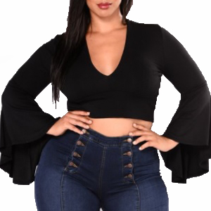 Top Cha Cha Fashion Nova Curve